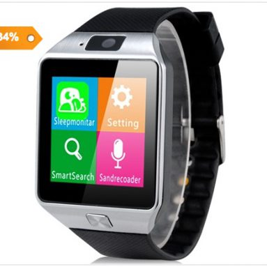 34% off COUPON DZ09 Smart Watch iz Focalprice