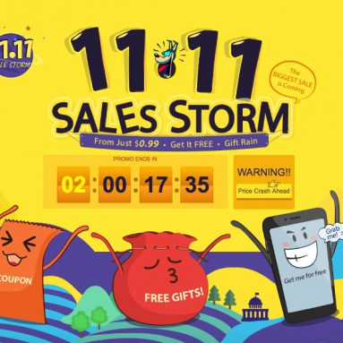 "11.11 ""Single Day"" Sales Storm from GearBest, don't miss it!"