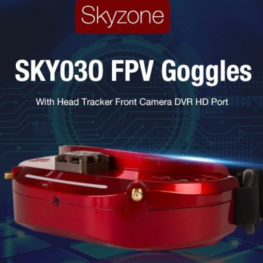€386 with coupon for Skyzone SKY03O 3D 5.8G 48CH Diversity FPV Goggles – Black	from GEARBEST
