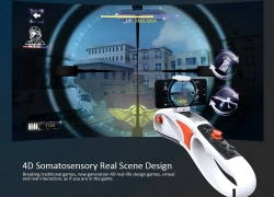 $33 with coupon for Smart 4D AR Game Gun Shooting Toy from GearBest