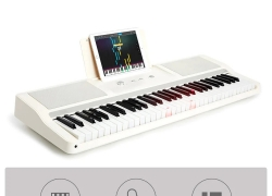 €265 with coupon for Smart Keyboard from Xiaomi Youpin Learning Music Instrument for Beginner BLACK from GearBest