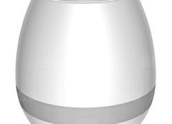 $11 flashsale for Smart Mini Flowerpot Piano Bluetooth Speaker Night Light  –  WHITE from GearBest