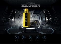$49 with coupon for Smoant Battlestar 200W TC Squonker Kit – BLACK from GearBest