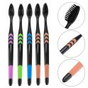 $3 with coupon for Soft Bristles Bamboo Charcoal Nano Toothbrush 5-color Design 10pcs from GearBest