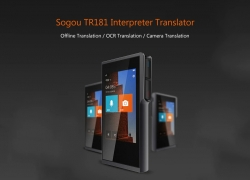 $239 with coupon for Sogou TR181 Wireless Touch Screen Smart Interpreter Translator from GearBest