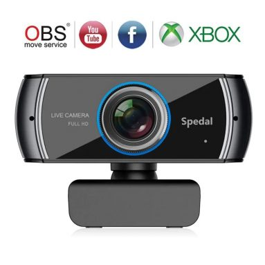 $ 33 với phiếu giảm giá cho Spedal 920 Full HD Webcam Máy tính xách tay phát trực tiếp máy tính từ GEARBEST
