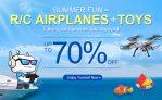 70% OFF na RC zrakoplovima i igračkama iz DealExtreme