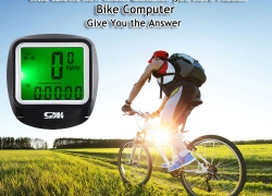 $4 with coupon for SunDing SD – 568AE 23 Functions Bike Computer from GEARBEST