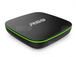 $17 with coupon for Sunvell R69 TV Box – EU Warehouse – EU PLUG BLACK from GearBest