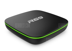 $23 with coupon for Sunvell R69 TV Box  – EU PLUG BLACK from GearBest