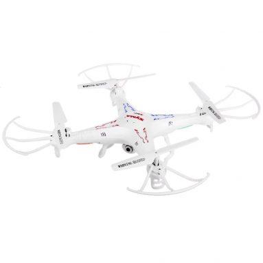 $ 31 với phiếu giảm giá cho Syma X5C - 1 RC 2.4GHz 4-kênh Drone - RTF - WHITE từ GearBest