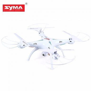 $ 39 với phiếu giảm giá cho Syma X5SW Explorers 2 2.4GHz 4 Kênh WiFi FPV RC Quadcopter với 0.3MP Camera HD 6 Axis 3D Flip Flight UFO RTF từ GearBest