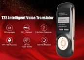 $59 with coupon for T2S Intelligent Voice Translator 2.4 inch Touch Screen WiFi Hotspot 42 Languages from GearBest