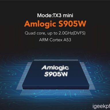 TANIX TX3 MINI - Hộp TV S905w Amlogic đầu tiên; thiết kế, tính năng, đánh giá (có phiếu giảm giá)