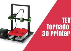 $ 287 dengan kupon untuk TEVO® Tornado DIY 3D Printer Kit 300 * 300 * 400mm Ukuran Pencetakan Besar 1.75mm 0.4mm Dukungan Nozzle Cetak Off-line - 110V Gudang AS dari BANGGOOD
