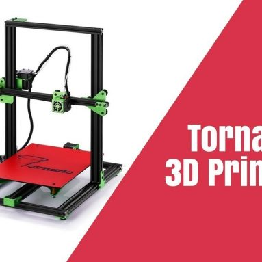 €203 with coupon for TEVO® Tornado DIY 3D Printer Kit 300*300*400mm Large Printing Size 1.75mm 0.4mm Nozzle Support Off-line Print – EU CZ warehouse from BANGGOOD