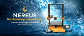 $399 with coupon for TEVO Nereus Touch Screen 3D Printer – MULTI-A US PLUG from GearBest