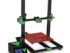 $303 with coupon for TEVO Tornado Most Assembled Full Aluminum Frame 3D Printer Eu Plug 220 V Black Green from GearBest