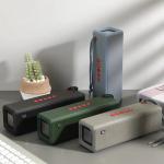 19 dolárov s kupónom na 271W bluetooth reproduktor TG10 Bezdrôtový prenosný zvukový box Vodotesný stereofónny zvukový panel s mikrofónom Podpora FM rádia Bass AUX TF USB od spoločnosti BANGGOOD