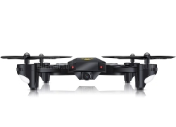 $34 with coupon for TIANQU XS809W RC Quadcopter 2MP WiFi Camera  –  BLACK EU warehouse from GearBest