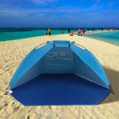 19 евро с купоном на TOMSHOO Outdoor Sports Sunshade Tent для рыбалки и пикника в парке на пляже от TOMTOP