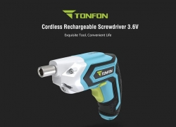 €23 with coupon for TONFON 3.6V Cordless Electric Screwdriver from Xiaomi youpin from GEARBEST