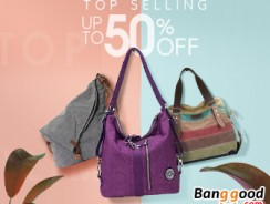 Up to 50% OFF Women Hot Sale Bags from BANGGOOD TECHNOLOGY CO., LIMITED