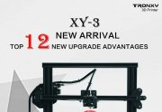 €263 with coupon for TRONXY XY – 3 3D Printer Fast Installation 310 x 310 x 330mm Print Size Multi Function Touch Screen – BLACK EU PLUG from GearBest