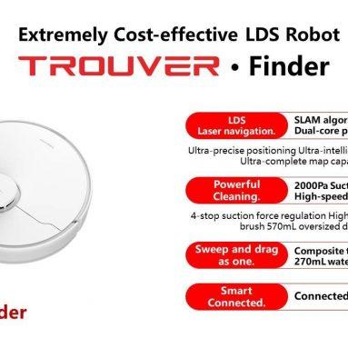 GEEKBUYING'den TROUVER Finder Robot Süpürge kuponlu 226 €