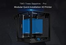$ 377 з купоном на ДВА ДРУГИ Сапфір - Pro модульний швидкий монтаж MKS Open Source 3D принтер від GEARBEST