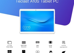$108 with coupon for Teclast A10S Tablet PC EU warehouse from GearBest
