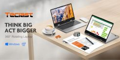 €281 with coupon for Teclast F5 Laptop 11.6 inch Touch Screen 360° Rotating Intel Gemini Lake N4100 8GB DDR4 256GB SSD Notebook EU CZ WAREHOUSE from BANGGOOD