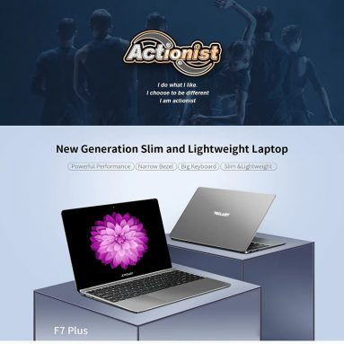 € 285 dengan kupon untuk Teclast F7 Plus Laptop 14.1 inci N4100 8GB RAM 256GB SSD Intel UHD Graphics 600 Win10 Notebook dari BANGGOOD