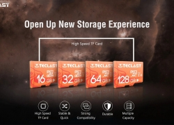 $12 with coupon for Teclast High Speed Waterproof Micro SD / TF Card UHS – 1 U1 – Light Salmon 128GB from GEARBEST