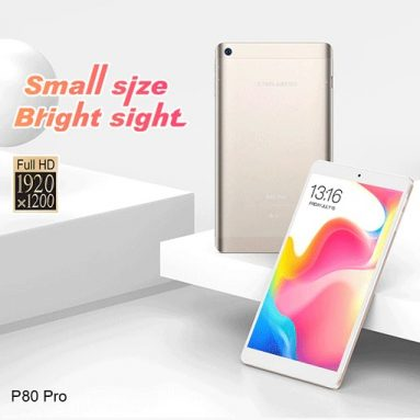 €76 with coupon for Teclast P80 Pro Tablet PC – CHAMPAGNE from GearBest