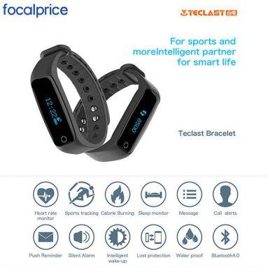 Teclast H30 Nabız İzleme Smart Bracelet Deal, EXP: Focalprice'den Mar.4th