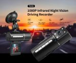 $18 with coupon for Tecney N2 1080P Infrared Night Vision Driving Recorder from GEARBEST