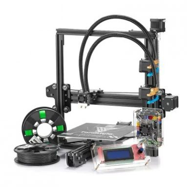 $289 with coupon for Tevo Tarantula 3D Printer DIY Kit  –  US PLUG  BLACK from GearBest