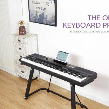 586 € με κουπόνι για TheONE T98 TON 88 Keys Portable Light Keyboard Pro Smart Piano Lang Lang Συνιστάται από την αποθήκη EU PL BANGGOOD