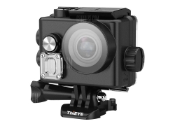 $92 with coupon for ThiEYE T3 4K WiFi Waterproof Action Camera  –  BLACK from GearBest