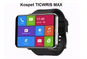 €135 with coupon for Ticwris Max 4G Smart Watch Phone Android 7.1 MTK6739 Quad Core 3GB / 32GB Smartwatch Heart Rate Pedometer IP67 Waterproof – Black from GEARBEST