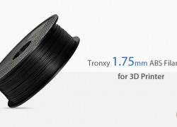 €21 with coupon for Tronxy 1.75mm ABS Filament for 3D Printer – Black EU warehouse from GearBest