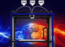 $333 with coupon for Tronxy X5S – 2E DIY 3D Printer 330 x 330 x 400mm – EARTH BLUE EU PLUG from GearBest