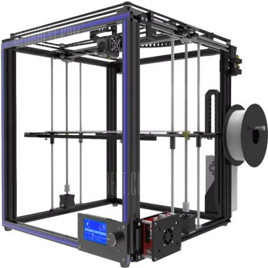 $275 with coupon for Tronxy X5S High-precision Assembly Metal Frame 3D Printer  –  EU PLUG  BLACK from GearBest