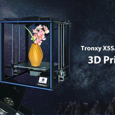 """349 דולר עם קופון עבור TRONXY X5SA Pro ARM 32 סיביות מדפסת תלת מימד תעשייתית 3 * 330 * 330 מ""""מ CoreXY מצבי תנועה מסך מגע 400 אינץ 'פילוס הפעלה אוטומטית מבית EU CZ WAREHOUSE GEEKBUYING"""