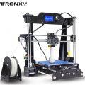 $135 with coupon for Tronxy X8 220 x 220 x 200mm Desktop DIY 3D Printer – EU PLUG BLACK EU warehouse from GearBest