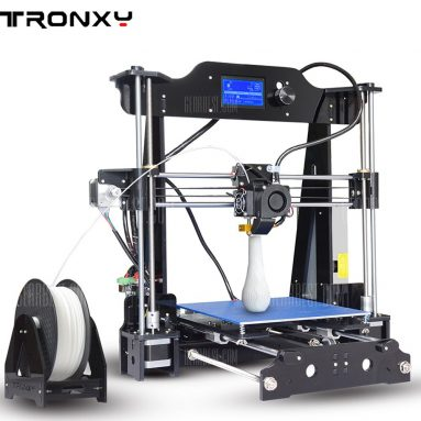 $135 with coupon for Tronxy X8 220 x 220 x 200mm Desktop DIY 3D Printer  –  EU PLUG  BLACK EU warehouse from GearBest