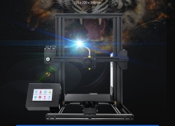 $209 with coupon for Tronxy XY – 2 Quick Assembly Aluminum Alloy 3D Printer – BLACK EU PLUG from GearBest