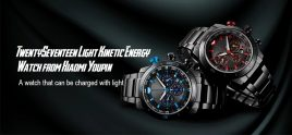 €119 with coupon for TwentySeventeen Light Kinetic Energy Watch from Xiaomi Youpin – Black from GEARBEST