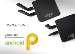€107 with coupon for UGOOS AM6 S922X TV Box Android 9.0 – Black EU Plug from GEARBEST